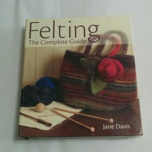 Other - Felting Guide by Jane Davis 255 Craft Wool Upcycle